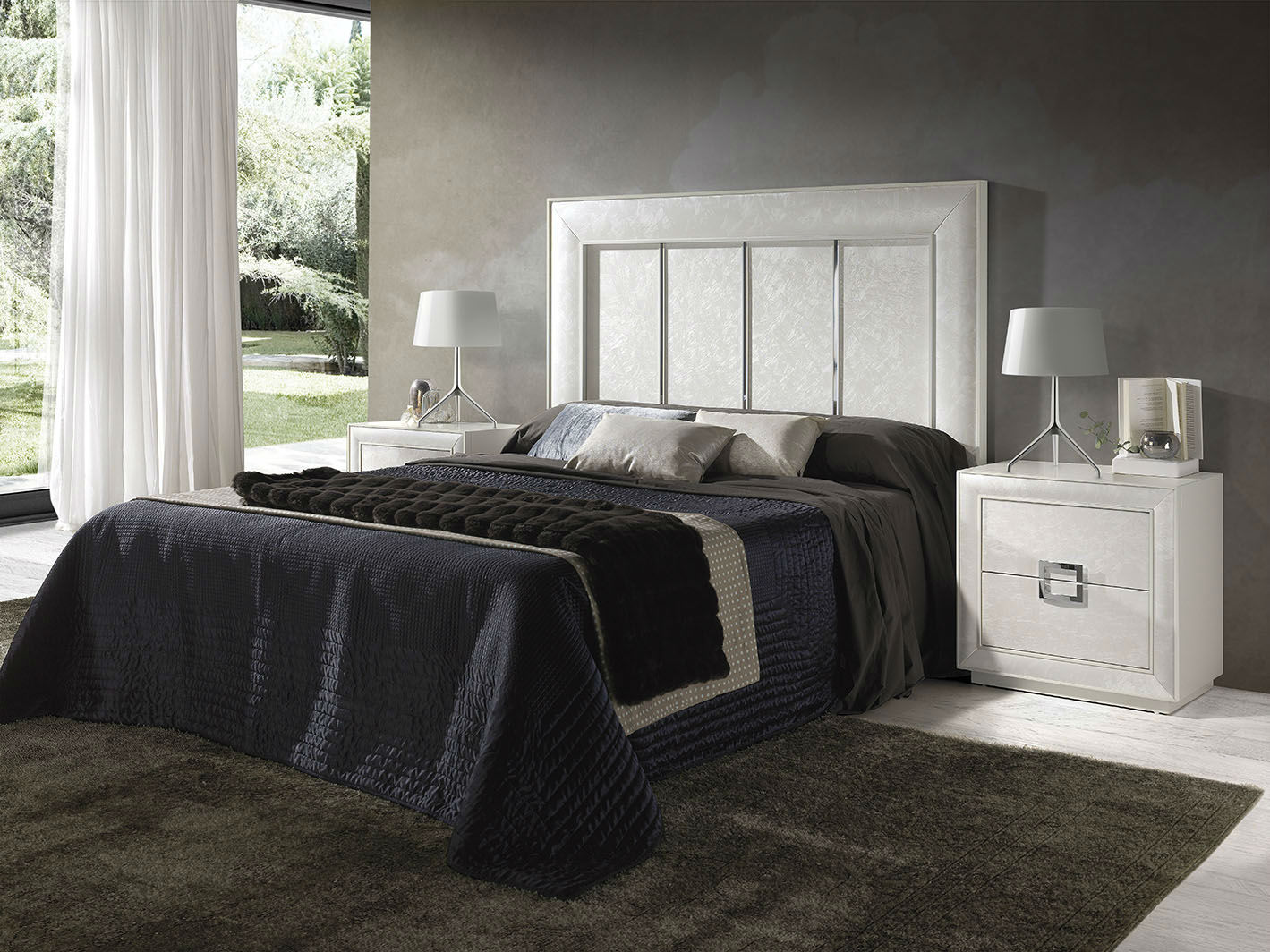 Dormitorio Plateado - Muebles Ávalos
