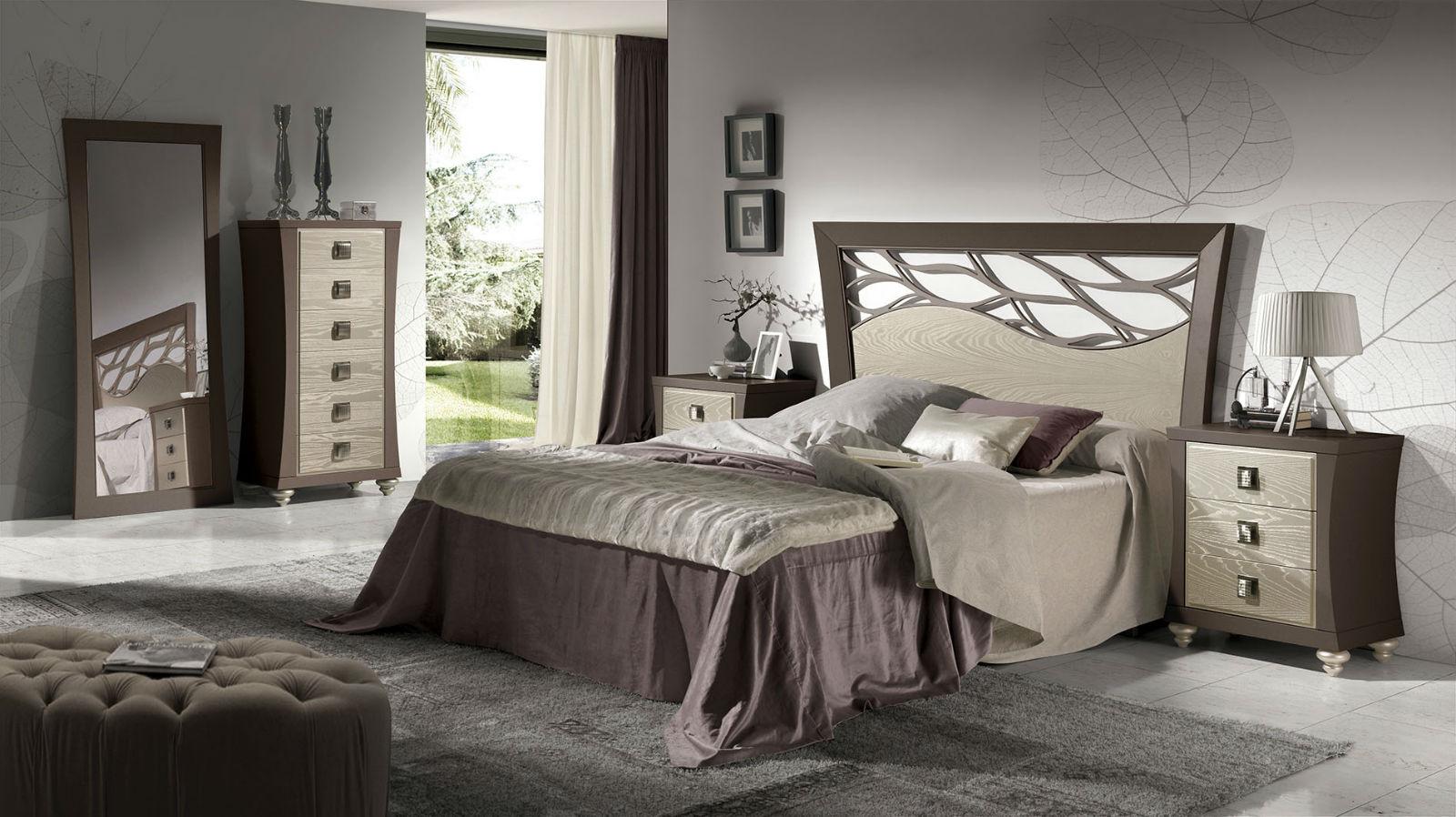 Dormitorio Madera Otoñal