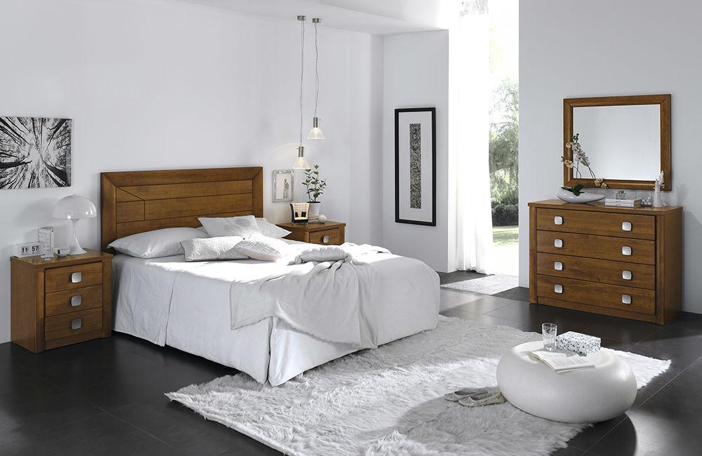 Dormitorio Madera Diseño Lineal