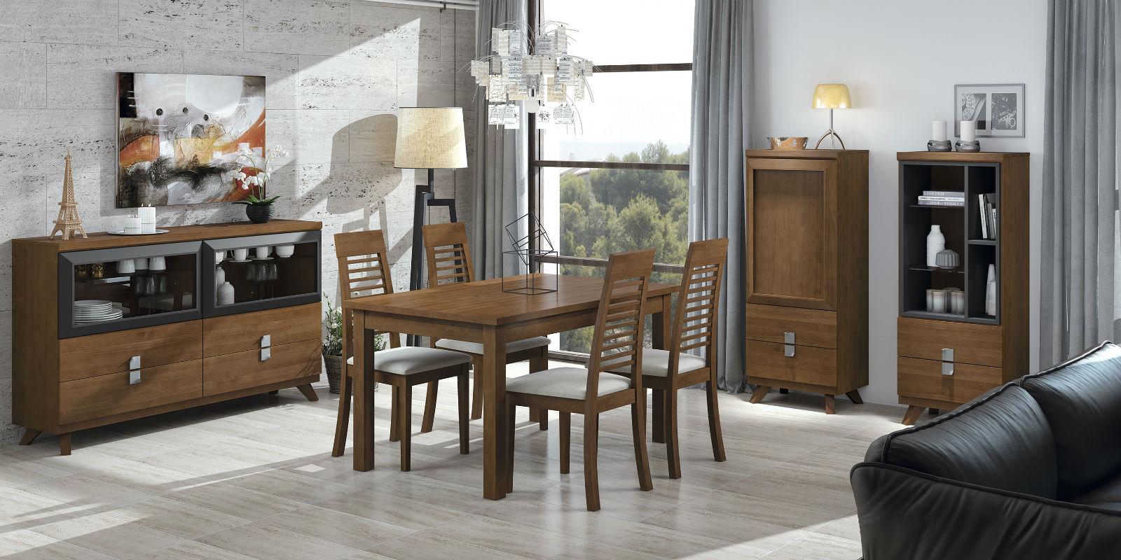 Muebles almer a muebles abrucena muebles baratos for Ver comedores modernos