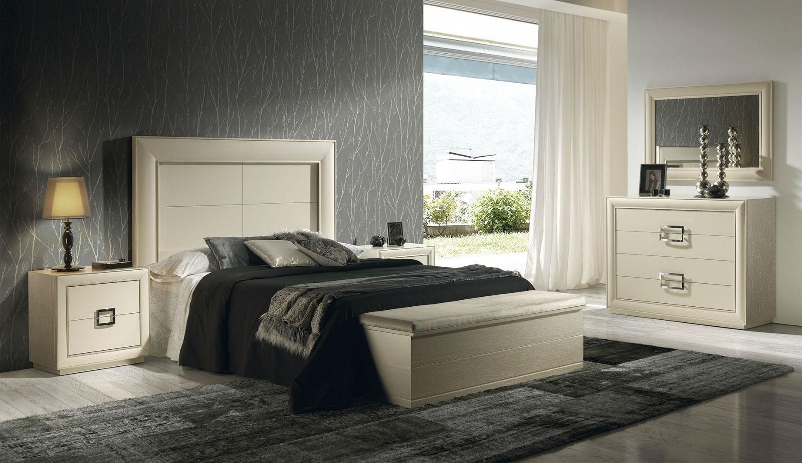 Dormitorio Blanco Crema
