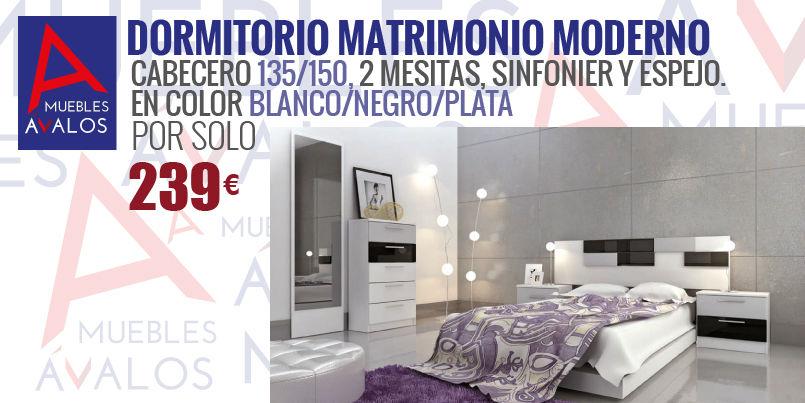 Dormitorios baratos muebles avalos - Muebles baratos almeria ...