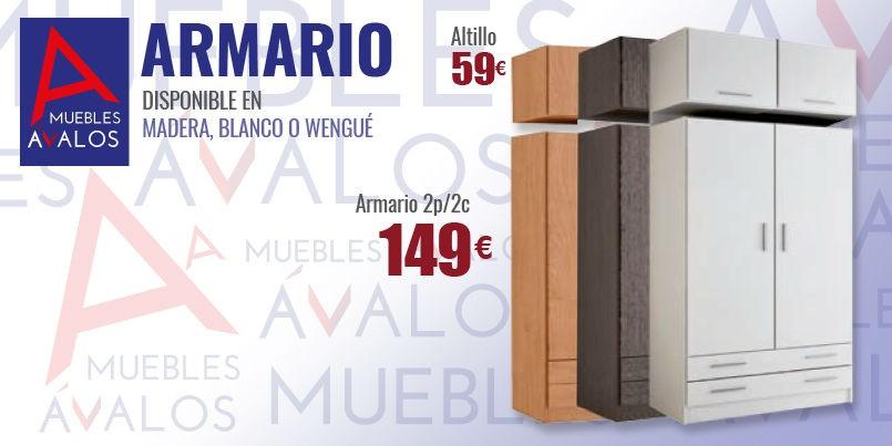 Armarios baratos almer a variedad armarios for Armario deslizante barato