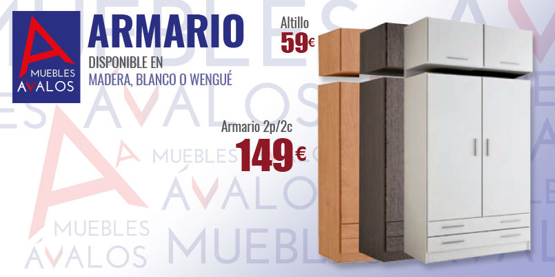 Armarios baratos almer a variedad armarios for Muebles en almeria ofertas