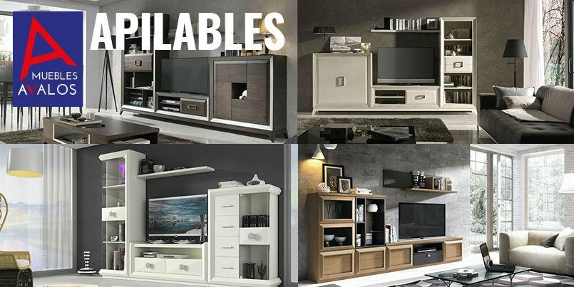 Muebles apilables archivos muebles avalos for Muebles apilables
