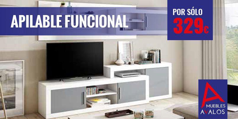 Mueble Apilable Econ Mico Funcional Muebles Valos Almer A