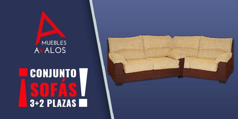 Conjunto De Sofás En Chenilla Sofás Baratos Sofás Almería Abrucena