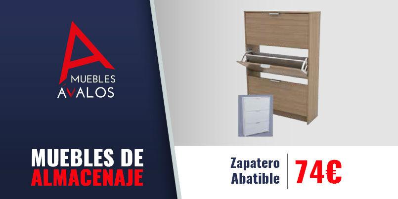 Muebles de almacenaje estanter a sinfonier zapatero for Muebles para almacenaje
