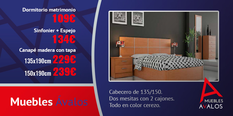 Muebles económicos Almeria