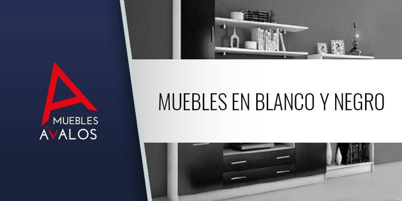 Muebles en blanco y negro muebles avalos - Muebles blanco y negro ...