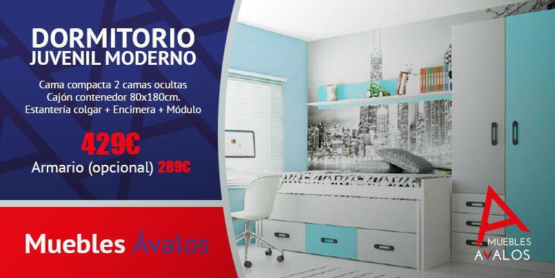 Dormitorio juvenil Archivos - Muebles Avalos